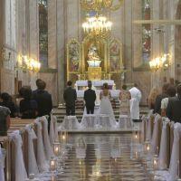 Dekoracja Kościoła Matki Bożej Wspomożenia Wiernych w Dobczycach